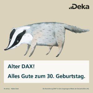 Happy Birthday, DAX!